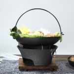 Cast Iron Barbecue Charcoal Oven
