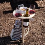 Outdoor Detachable And Foldable Wine Rack